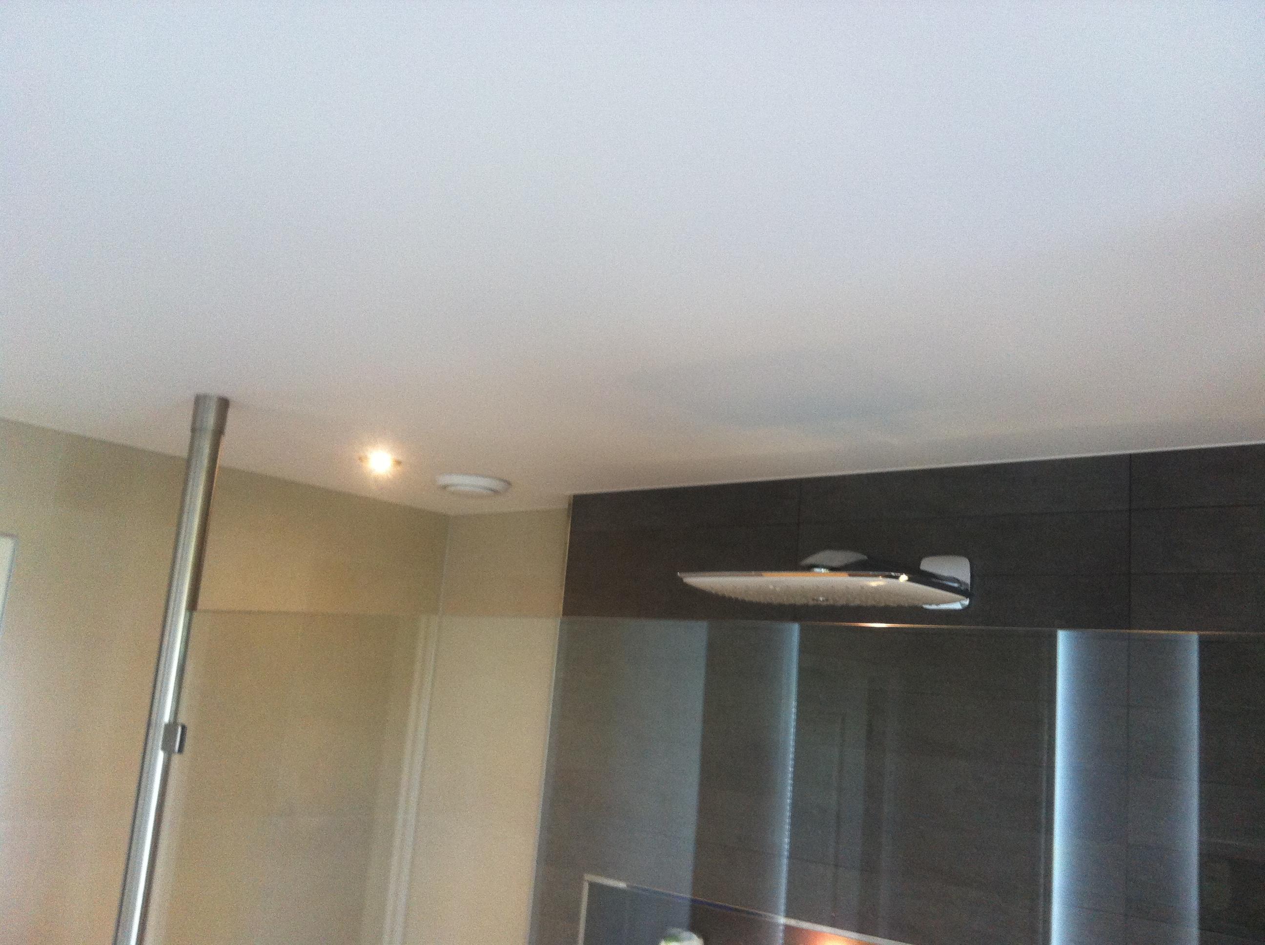 badkamer plafonds spanned spanplafonds