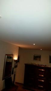 Spanplafond in hal