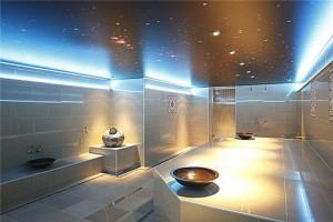 Spanplafond in sauna